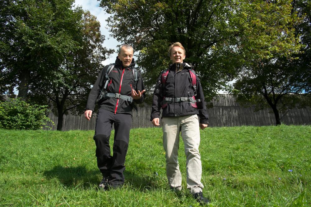 Jörg-Christian Schillmöller und Dirk Gebhardt