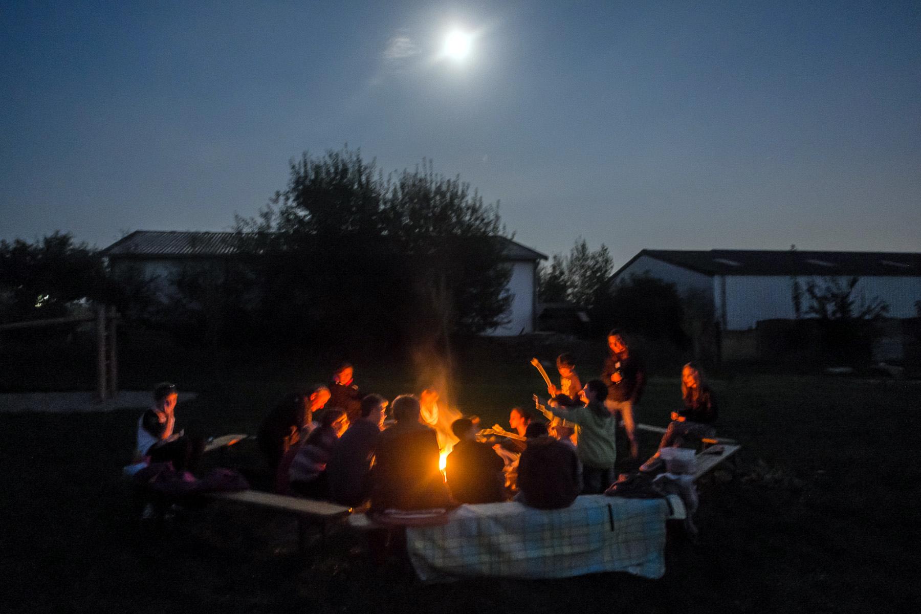 Lagerfeuer in Birgden