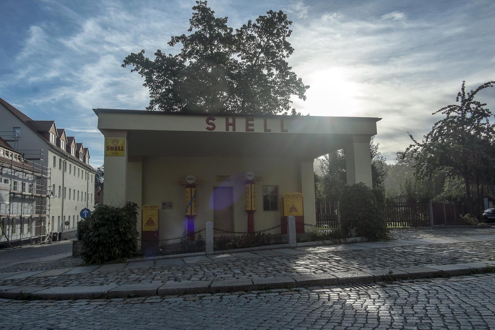Tankstelle in Kamenz
