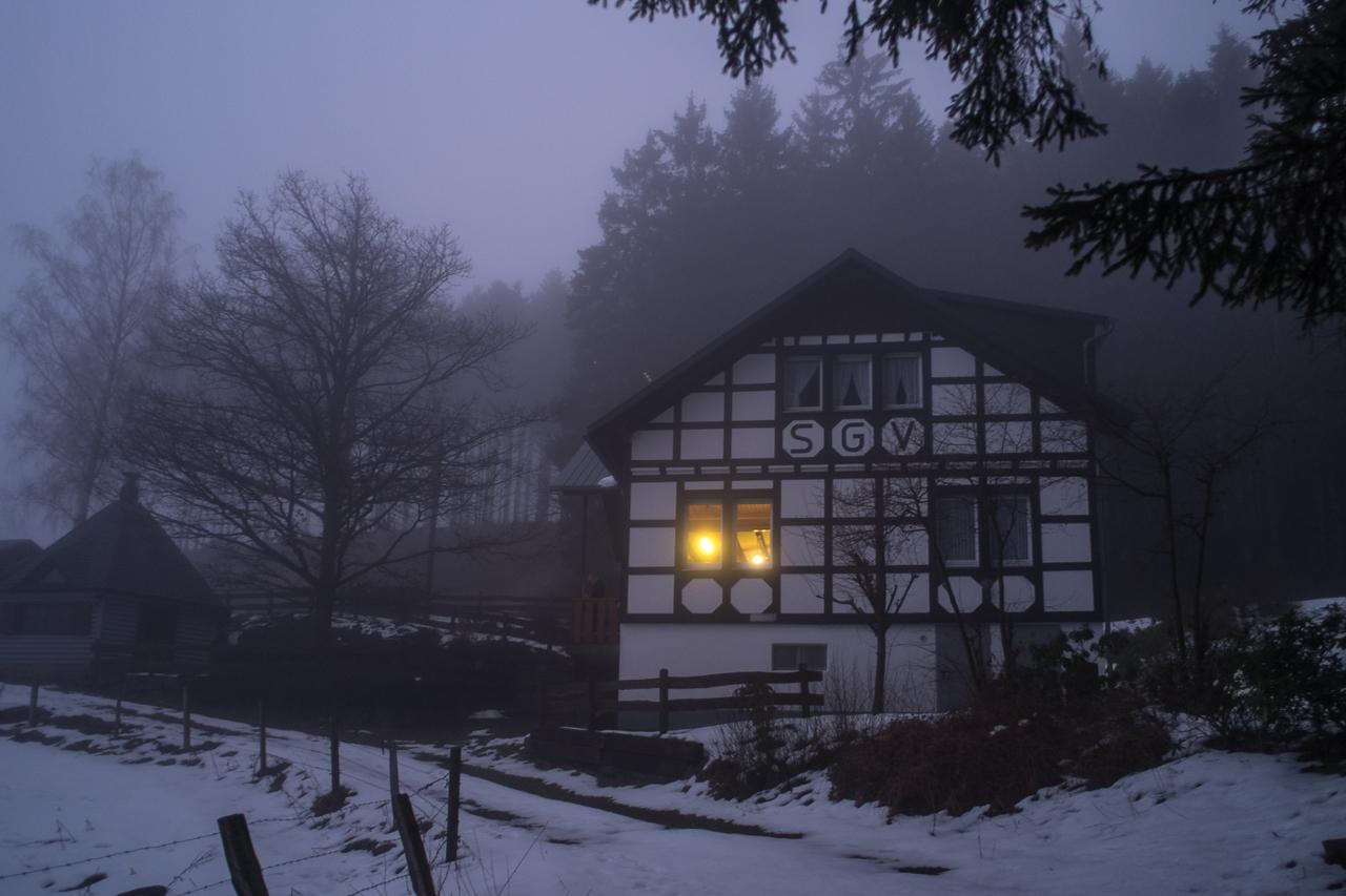 Christiane Koch Wanderhütte in Bracht