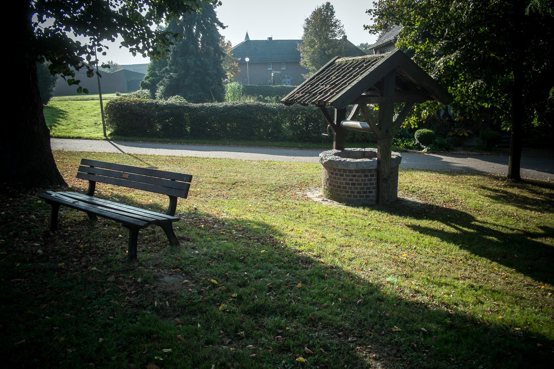 Dorfplatz in MIllen