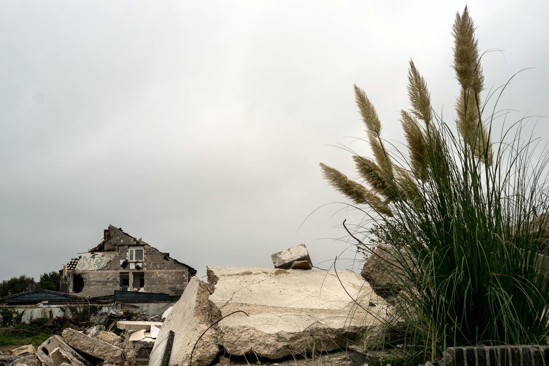 Zerstörtes Haus in Immerath