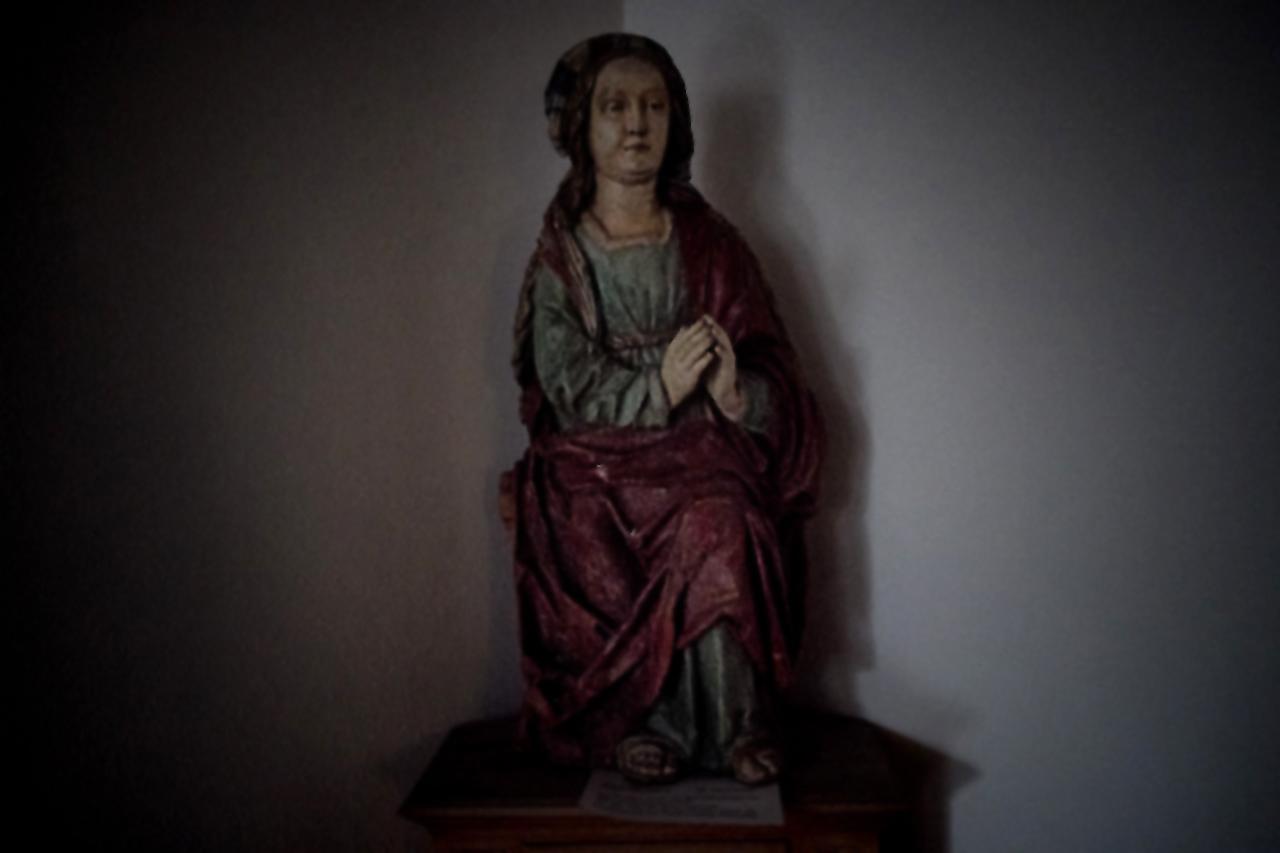 Heiligenfigur im Klosterknechsteden